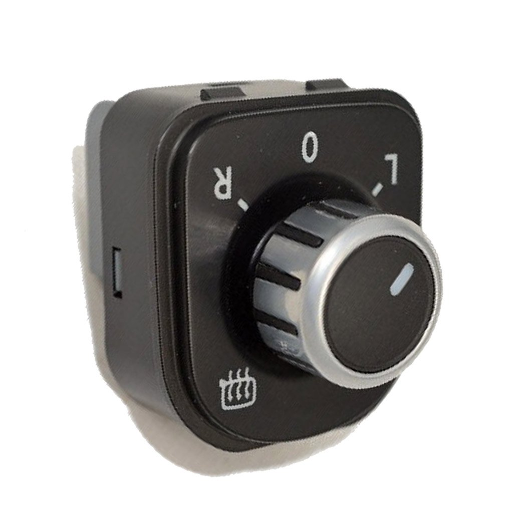 Plegable Espejo Cromado Ajustar Interruptor De Mando W