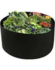 """Xnferty 100 Gallons Extra Large Round Raised Garden Bed, Deep Soil Diameter 38""""/Height 20"""" Planting Container Grow Bags Durable Felt Fabric Planter Pot for Plants,Vegetables,Flowers"""