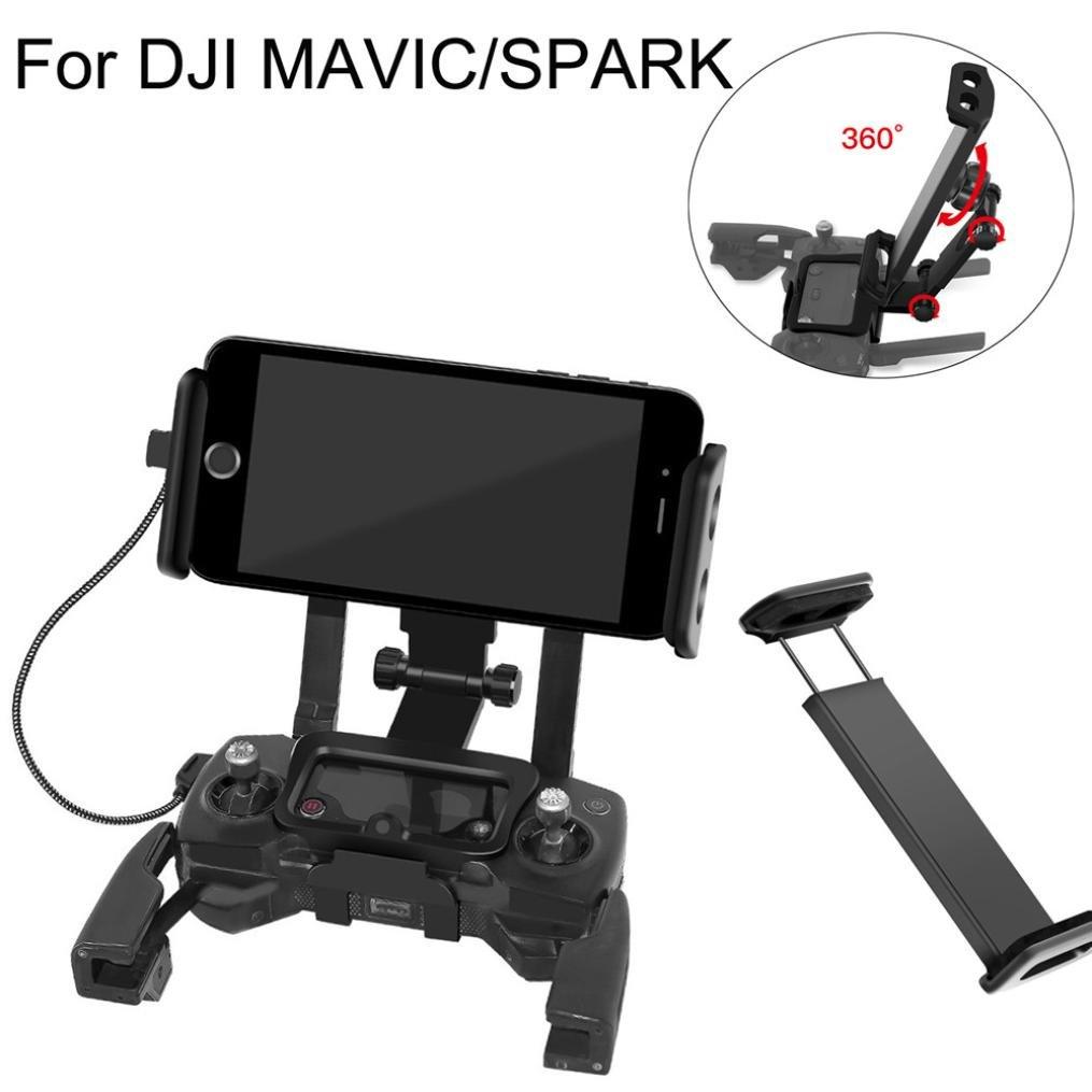 For DJI Mavic Pro Drone Phone Tablet Bracket Video Stabilizer U Handle Holder