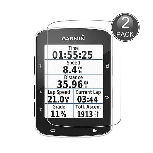 E-Hamii [2-Pack Garmin Edge 520 Protector de Pantalla, 0.26mm HD ...
