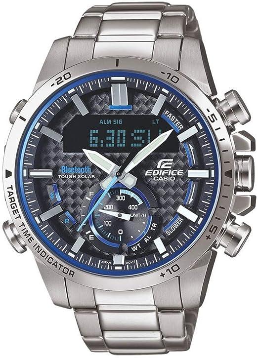 Casio Horloge ECB 800D 1AEF: : Montres  kqx6B