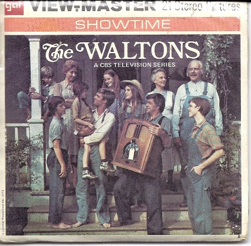 Price comparison product image The Waltons 3d View-Master 3 Reel Packet