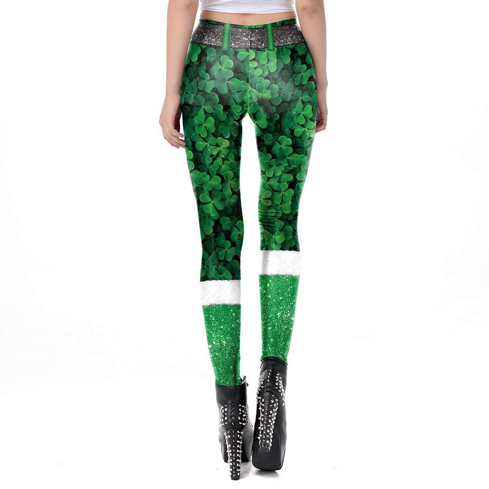 Patricks Day Irish Pattern Long Boot Socks For Womens Womens 1 Pair Stockings Warm St