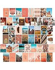 50 Stks Esthetische Foto Voor Muur Collage, Chique Print Kit, Kamerdecoratieposter Voor Meisjes, Tieners Kaarten, 10x15cm Photo Display, Met Zelfklevende Tape