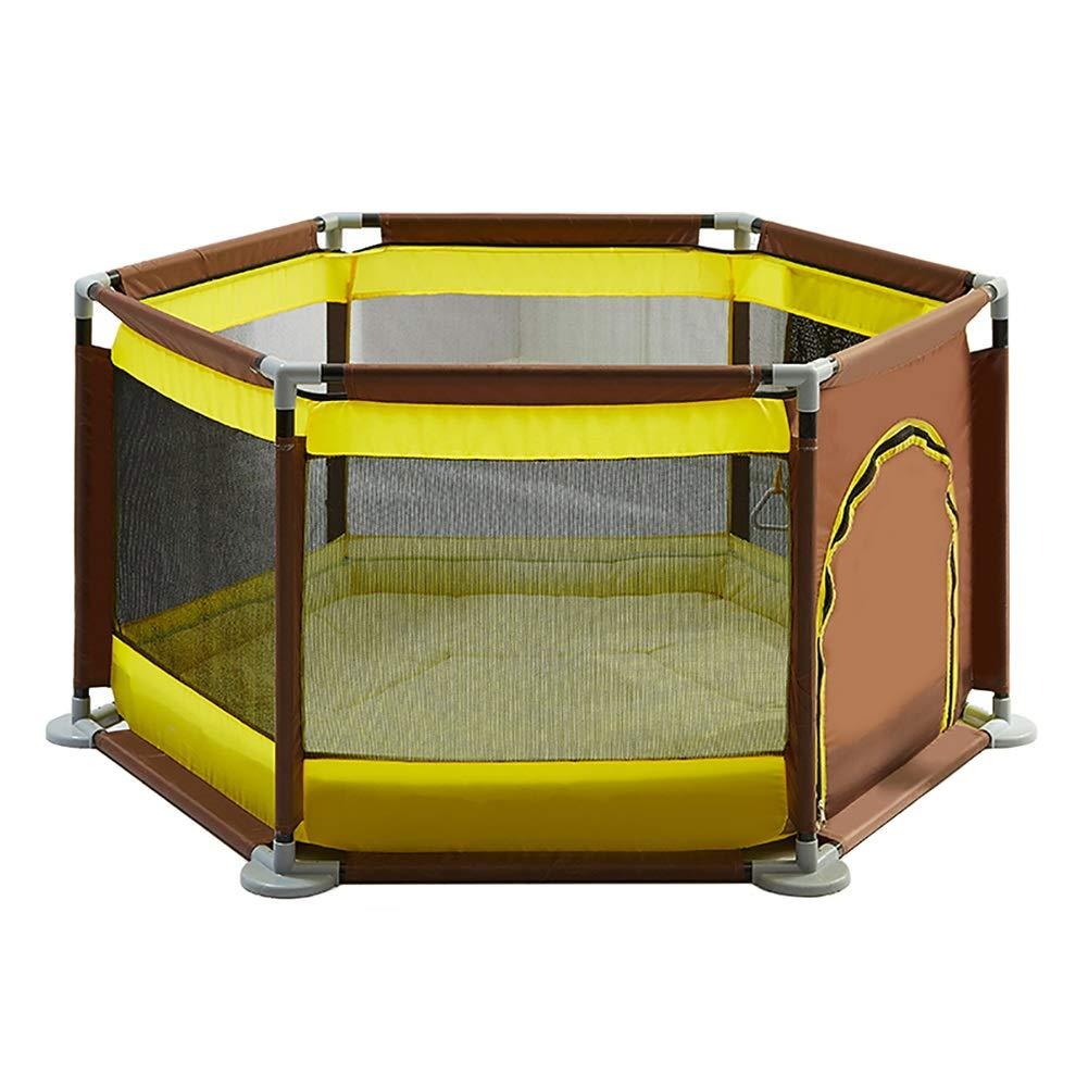 ベビーフェンス Playpen Play Yard屋内Foldable 6パネルPlayground Baby Safety Playフェンスキッズアクティビティセンター (色 : Style 1)  Style 1 B07HVWYZGC