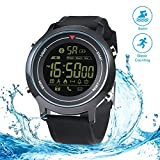 RUNACC Vibe Smart Sport Watch Waterproof Watch for Outdoor Exercise, Compatible with Smart Phone, Monitoring Sports Data, Bluetooth Connection
