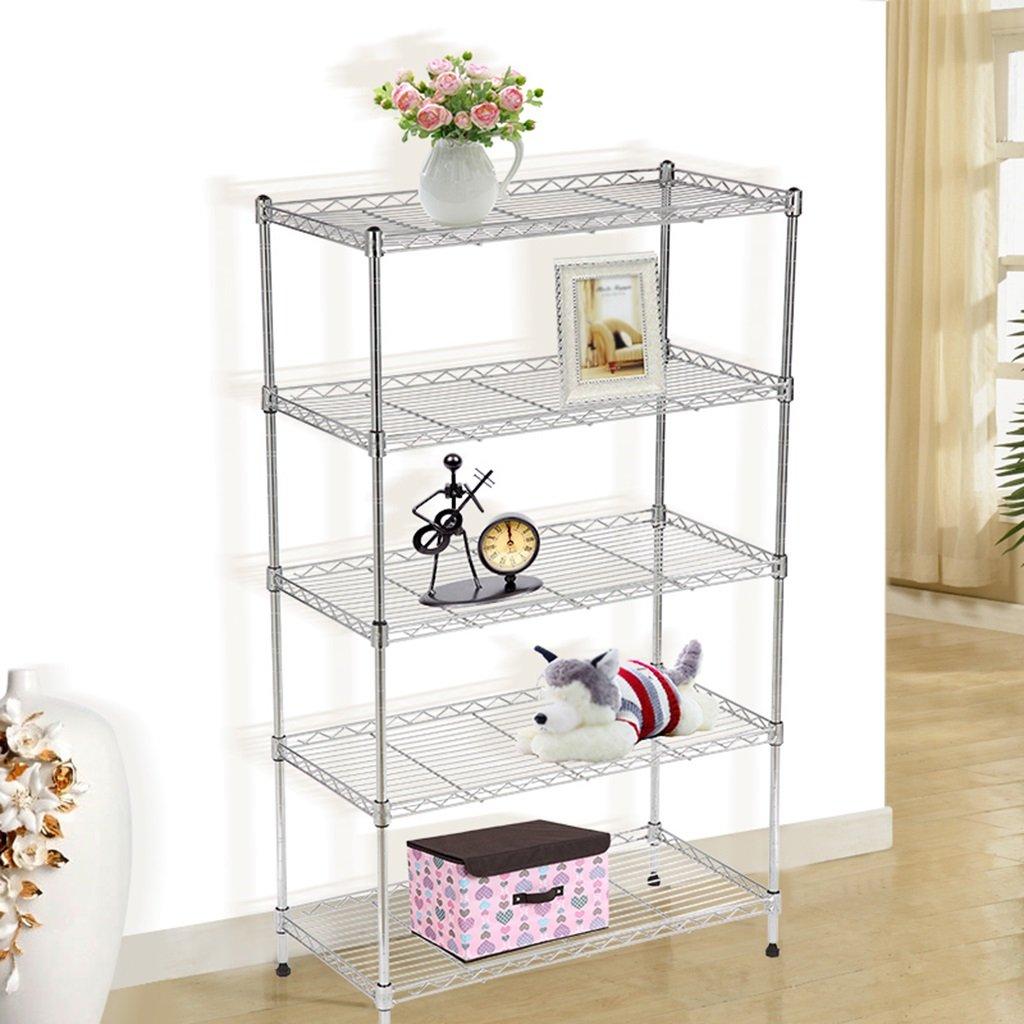 Amazon.com: Standing Shelf Units 5 Layers Kitchen Shelves Microwave Oven Rack Floor Pot Rack Kitchen Supplies Storage Rack (Size : 8025180cm): Kitchen & ...