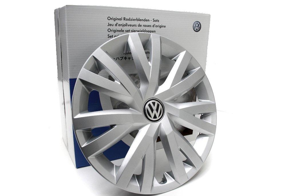 Original Volkswagen Repuesto VW Tapacubos (Golf 7 VII) 16 Pulgadas Cubierta de la rueda, original VW Zubehör: Amazon.es: Coche y moto