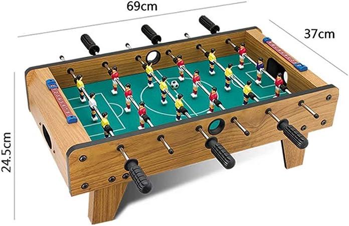 GG-Kinderspielzeug Mesa de fútbol para niños Mesa de Ping Pong Juguetes Multijugador Consolas para Padres y niños Adultos Máquinas de fútbol para Interiores Familia Juguetes educativos para niños: Amazon.es: Hogar