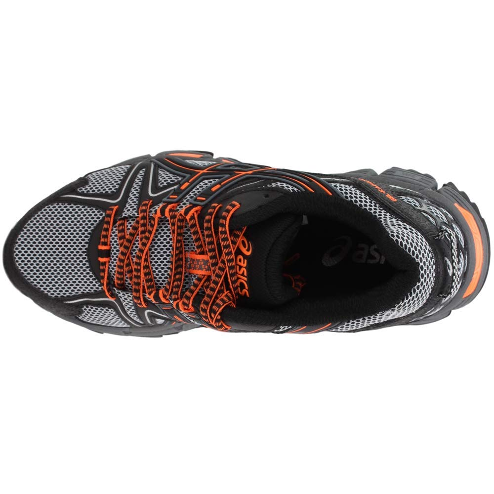 ASICS Mens Gel-Kahana 8 Running Shoe Black/Hot Orange/Carbon 6.5 Medium US by ASICS (Image #6)