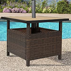 Amazon.com : Best Choice Products Outdoor Furniture Wicker ...