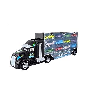 Toyvian Serie di tecnologie di carico Camion Modello di Auto Technic Blocks Set Costruzione Giocattoli Fai da Te Chiarisca Il Giocattolo per i Bambini