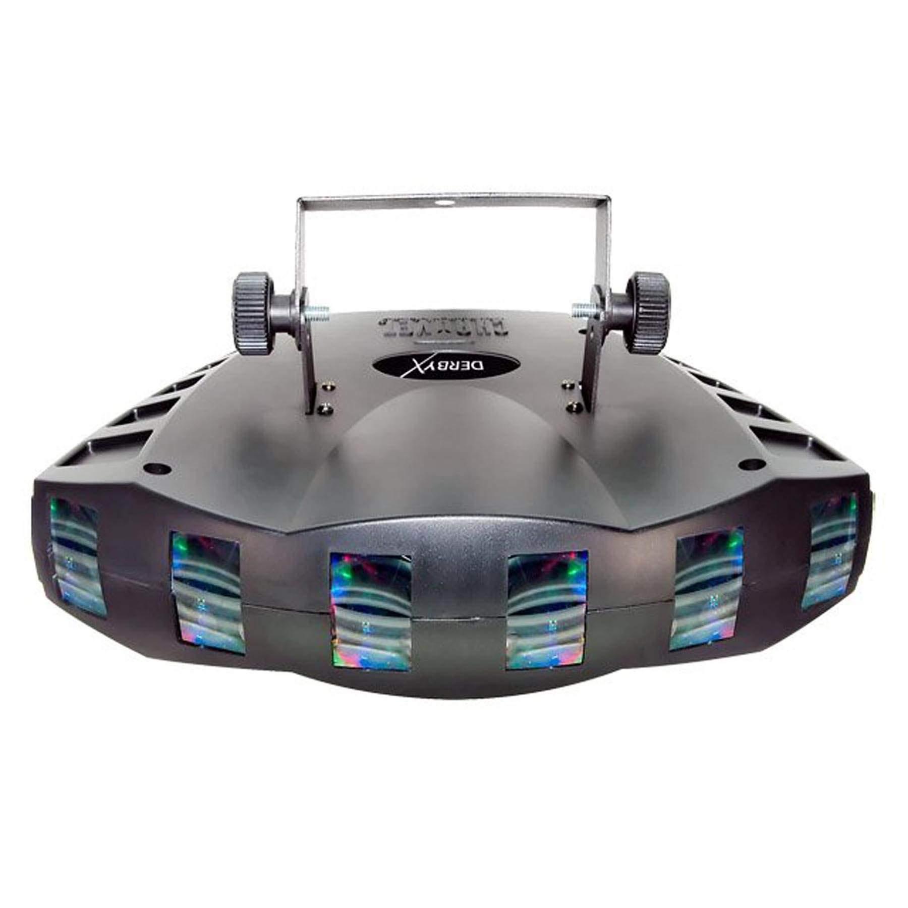 Chauvet DJ Derby X DMX-512 Multi-Colored LED RGB Strobe DJ Lighting Effect by CHAUVET DJ