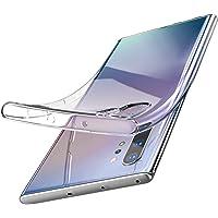 TOZO for Samsung Galaxy Note 10 Plus Case Premium Clear Soft TPU Gel Ultra-Thin [Slim Fit] Transparent Flexible Cover for Samsung Galaxy Note 10+ 5G[Clear Gel]