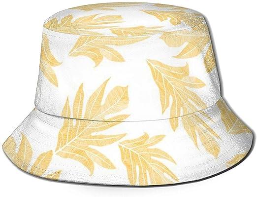 Bucket Hat Cotton Sun Cap Fishermans Hat Ulu NUI Mango On White ...