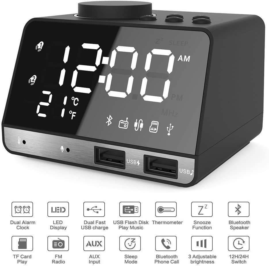 Alarm Clocks for Bedrooms, 4.2