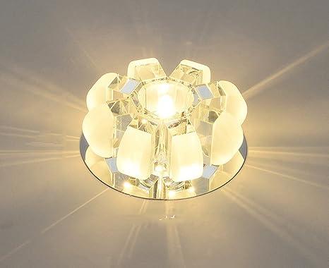 Plafoniere Per Le Scale : Momo faretto a soffitto led in cristallo creativo mini