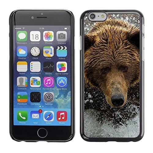 """Premio Sottile Slim Cassa Custodia Case Cover Shell // V00003019 ours brun dans la rivière // Apple iPhone 6 6S 6G PLUS 5.5"""""""