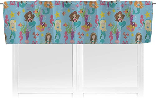 RNK Shops Mermaids Valance Personalized