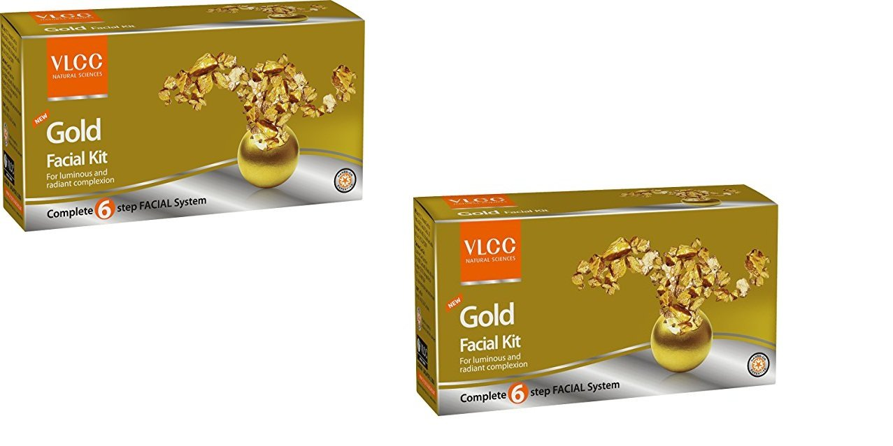 Vlcc Gold Facial Kit - 60G (Pack Of 2) product image