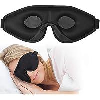 OriHea Sömnmask för kvinnor och män, 3D komfort ultramjuk premium ögonmask för sömn, blockera ljus 100 % ögonskuggsskydd…