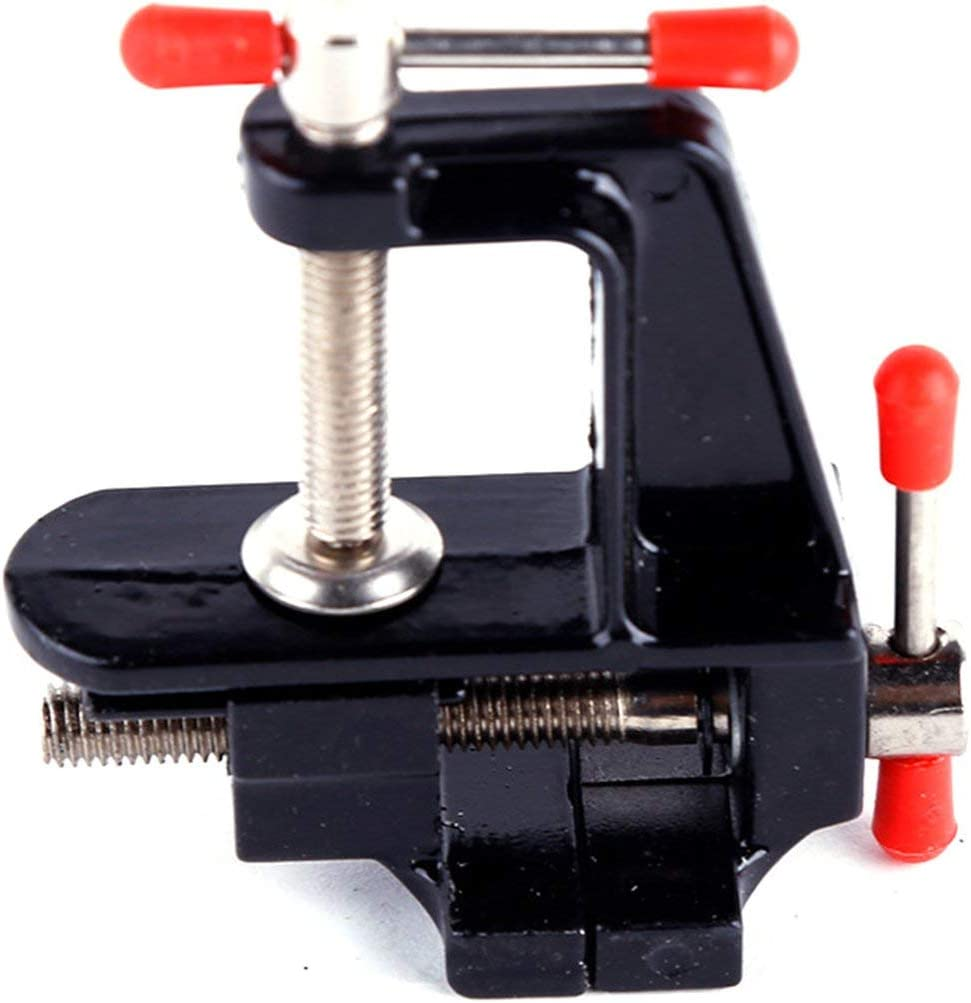 tornillo de banco peque/ño para el hogar alicates planos peque/ños Mini bricolaje DBSUFV Mini tornillo de banco compacto de aleaci/ón de aluminio tornillo de banco de 35 mm tornillo de banco de mesa