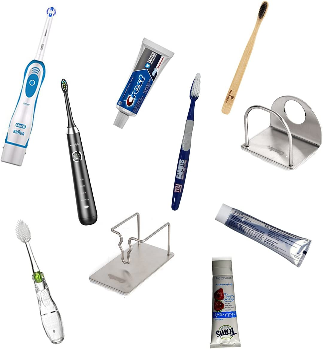 CASAFE Thoothbrush and Toothpaste Holder
