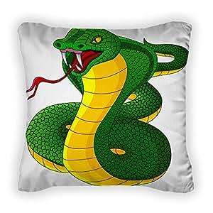 Gear New Angry Cobra Coon Throw Pillow, Poplin, 14x14, GN29167