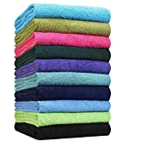 "Hand Towels-24 Pack-Yellow, Super Absorbent Ring spun, 100% Cotton,(Size 16""x27""), Commercial Grade, Multipurpose, Gym-Spa-Salon Towel, 3 lbs. per Dozen Quality -By Pacific Linens (Yellow)"