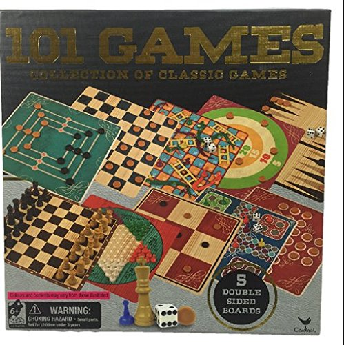 Cardinal 101 Collection of Classic Boards Games
