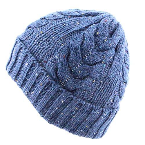 2 Knit del Invierno del Casquillo Sombrero Maozi 4 del MS BafqzI6