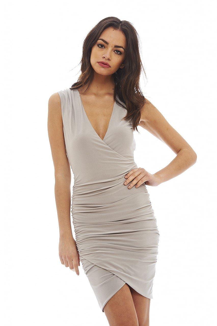 95620f4603 Top 10 wholesale Plunge Neck Mini Dress - Chinabrands.com