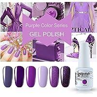 Vishine Nail Gel Polish 6 Colors Set 8ml Gift Set C003