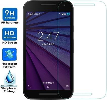 ELECTRÓNICA REY Protector de Pantalla para Motorola Moto G 3 G3 ...