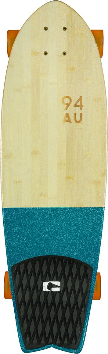 【海外輸入】 GLOBE HG Sun HG Sun City Complete HG Skateboard, Half Dip Bamboo/Blue by GLOBE HG B00W2U6J4M, コガネイシ:7caa1425 --- a0267596.xsph.ru