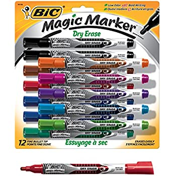 Amazon.com : June Gold 39 Assorted Colored Dry Erase