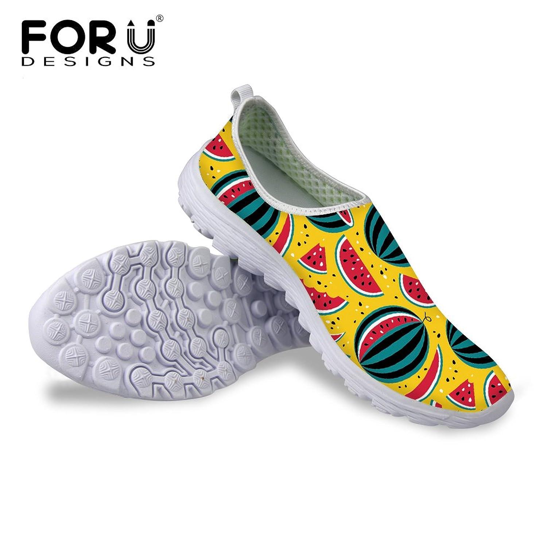 FOR U DESIGNS Summer Yellow Fashionable Women Casual Sneaker
