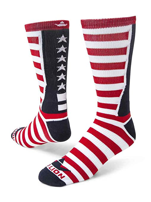 Red Lion Team USA Patriotic calcetines