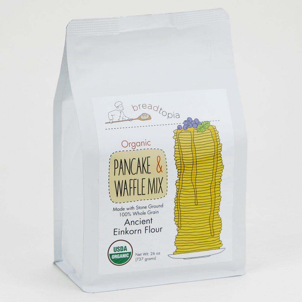 Breadtopia Organic Mixes - Einkorn Pancake & Waffle Mix