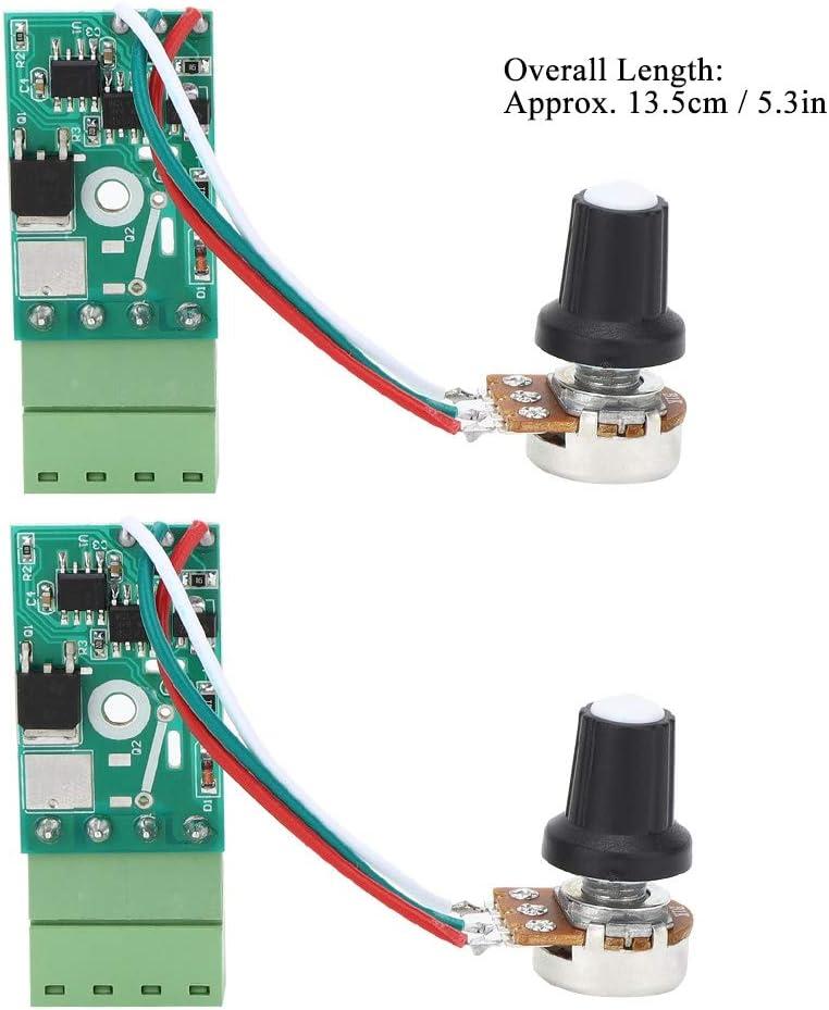 2 Pcs Contr/ôleur de Gradation LED Contr/ôleur de Gradation Manuel Bouton Gradateur Contr/ôle de Luminosit/é Commutateur de Lumi/ère 15A 12-24 V