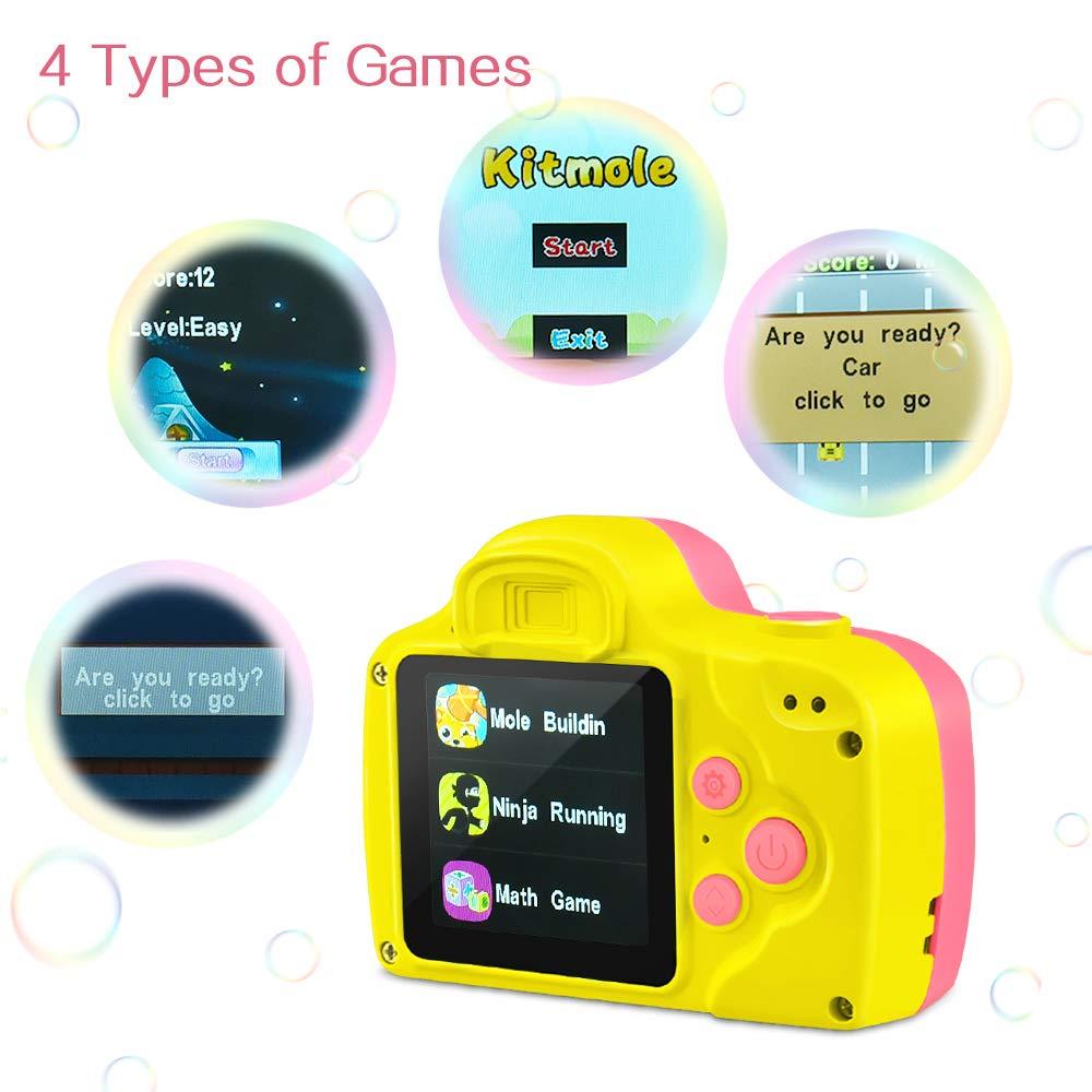 LetsGO toyz - Cámara Digital Inteligente para niños, Rosa ...