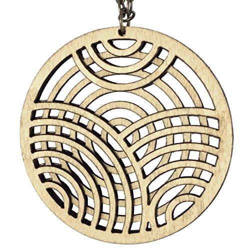 KNOCKOUT | laser cut necklace ()