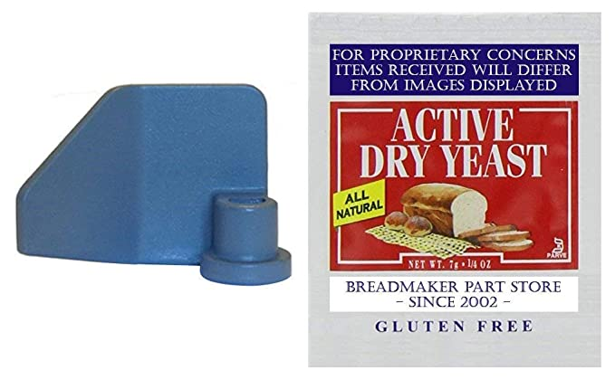 Nueva paleta de amasado para Breadman modelo # tr555q Cool Touch Deluxe Super rápida Vertical 2-lb Pan Panificadora eléctrica Pan panadero pan máquina brazo ...