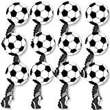 GOAAAL! - Soccer - Spirit Cheer Gear - Fan Sports Swag Paddles - Set of 12