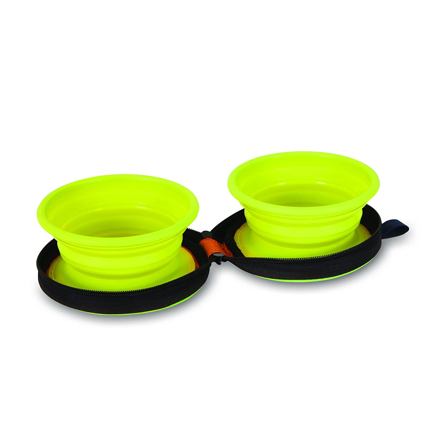 Amazoncom Petmate Cup Silicone Duo Travel Bowl Pet Supplies - Cat and dog duo take the best travel photos ever