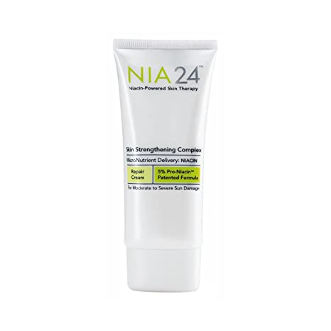 Nia 24 Skin Strengthening Complex, 1.7 fl. oz. Doberyl Single Use Mineral Mud Mask Black Head Ex Pore Strip Acne Deep Cleanser Peel Off Cleansing Face Mask Nose Strip BlackHead Remover Travel Size [80 Pack]