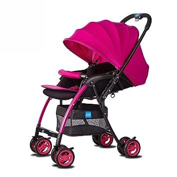 Cochecito Anna Sistema del Recorrido bebé Baby Trolley luz Paraguas Coche de Cuatro Ruedas se pliegan
