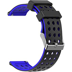 Amazon.com: B-Great 22mm Quick Release Silicone Watch Band ...