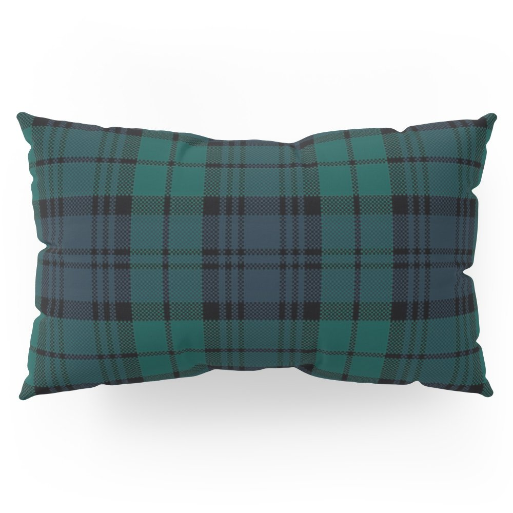 Society6 Love Tartn (2) - Black Watch Pillow Sham King (20'' x 36'') Set of 2