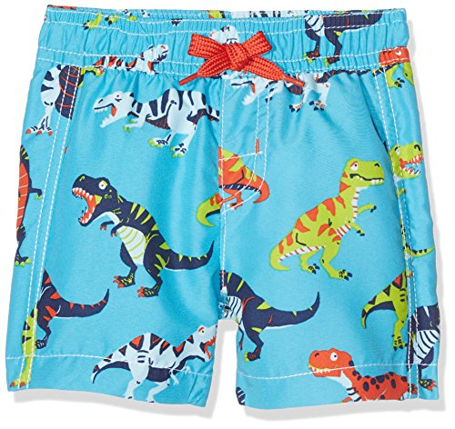 Hatley Baby Boys' Swim Trunks, Roaring T/Rex, - 400 Spf